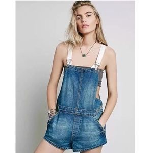 Free People | overall shorts